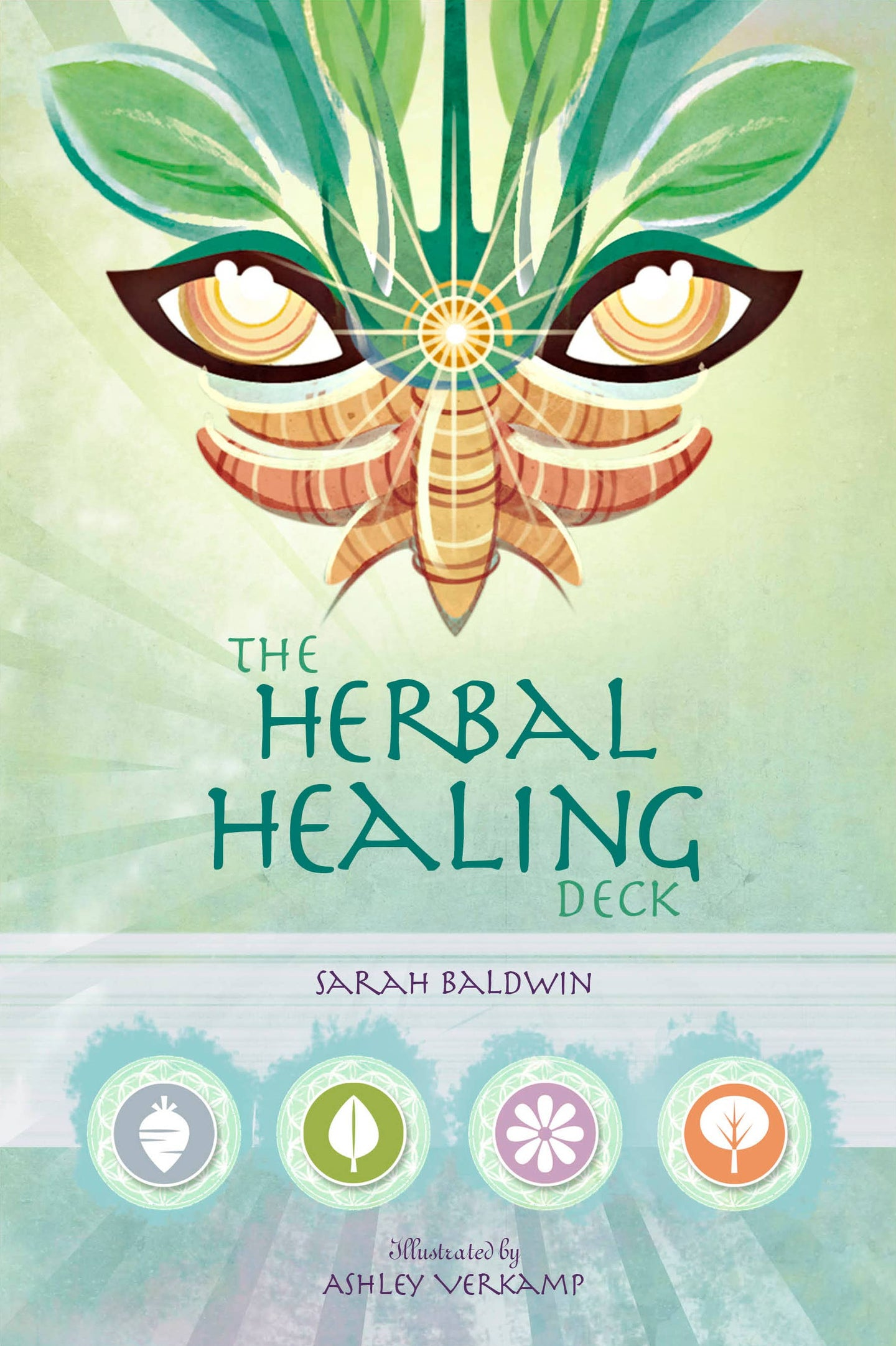 Red Feather - The Herbal Healing Deck Book