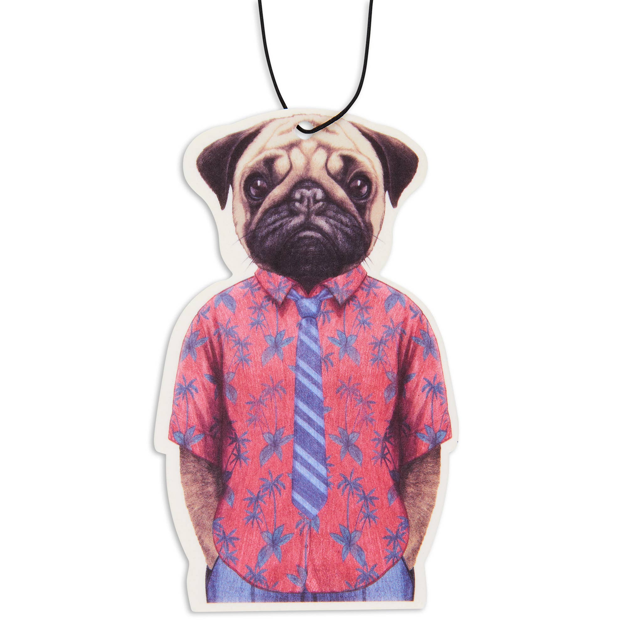 Fresh Fresheners - Pug in Hawaii