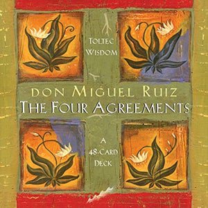 The Four Agreements 48 Card Deck