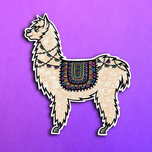 Zenspire Designs - Llama Sticker