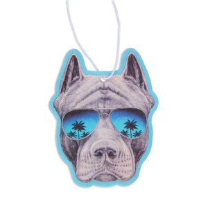 Fresh Fresheners - Pit bull With Sunnies