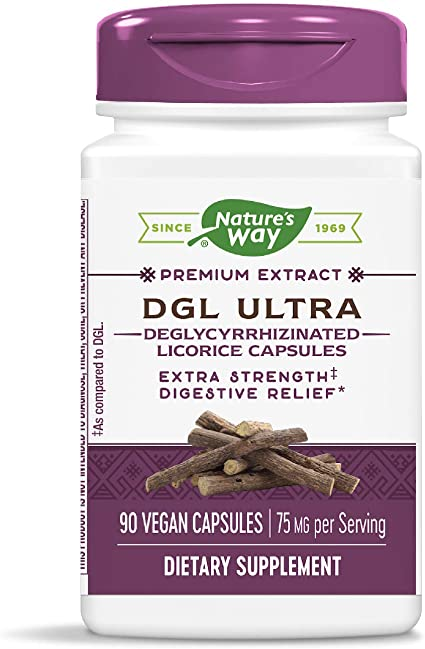 Nature's Way DGL Ultra - German Chocolate Flavored