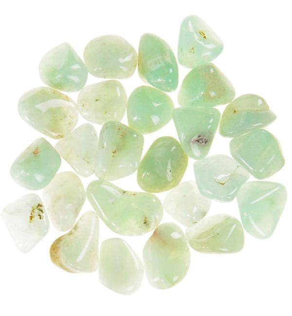Natures Artifacts Inc - TPREN - Prehnite Tumbled Stones