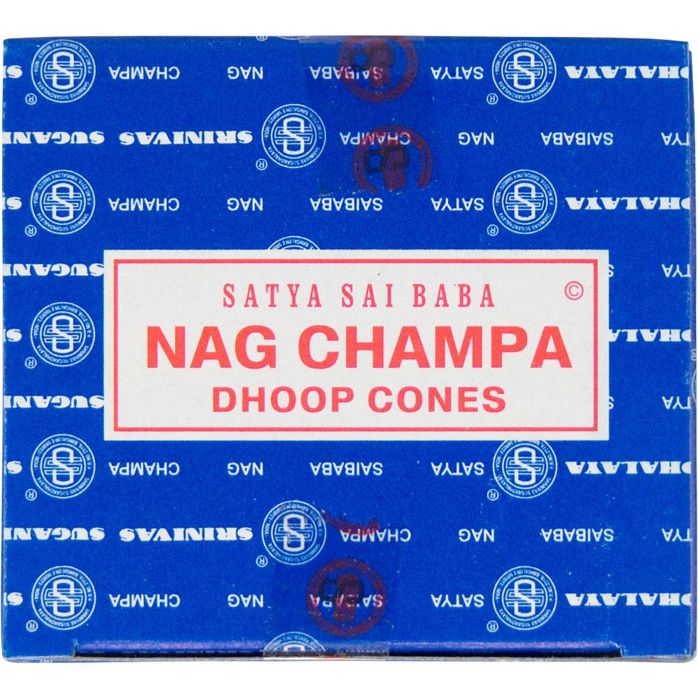 Satya Nag Champa Incense Cones Box