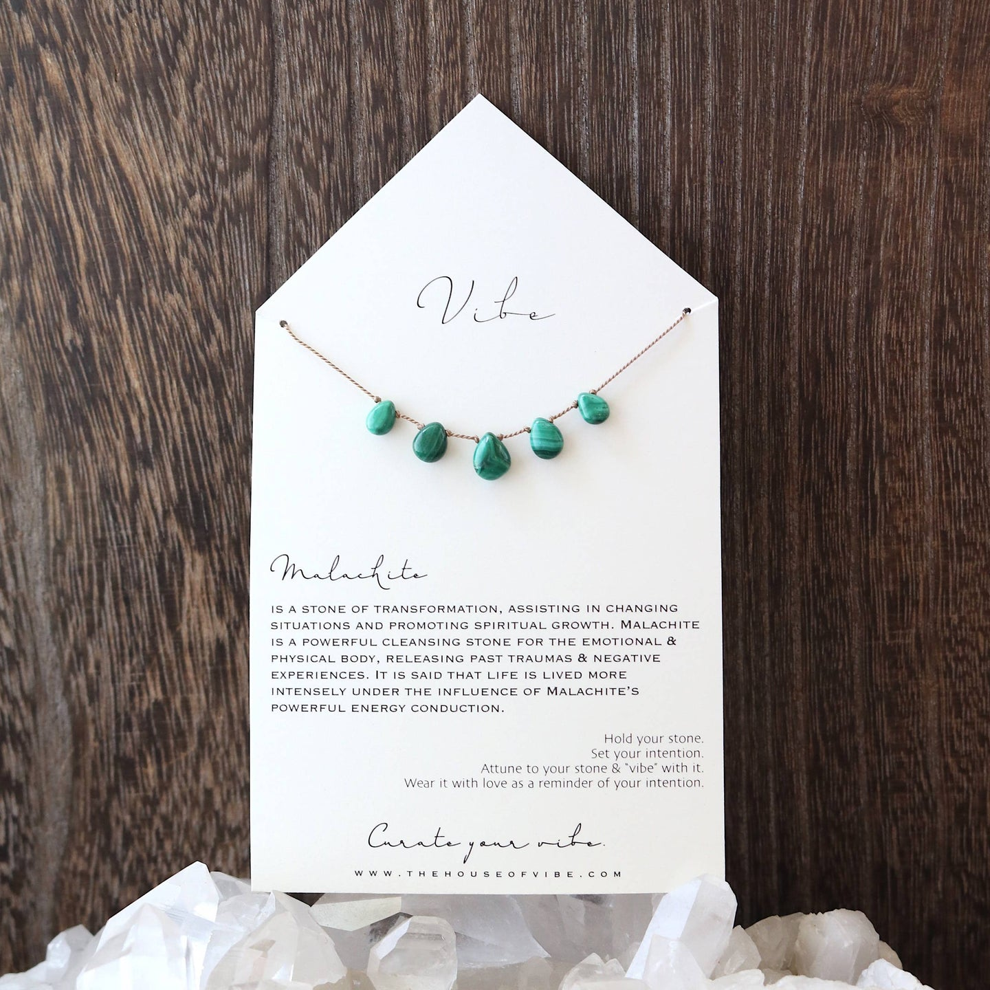 Vibe - 5 Stone - Malachite | Very Limited Edition