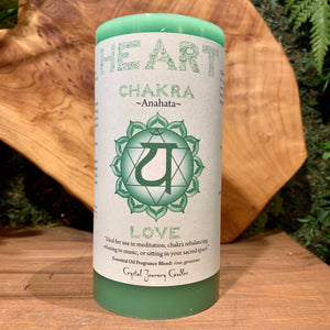 Heart Chakra - LOVE Candle