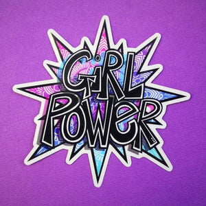Zenspire Designs - Girl Power Sticker
