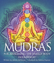 Load image into Gallery viewer, Mudras Deck & Book Set