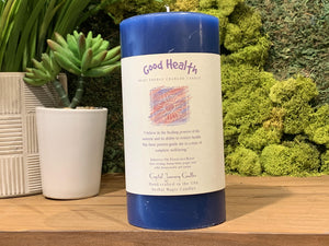 Good Health - Large Crystal Journey Candle