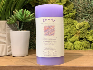 Harmony - Large Crystal Journey Candle