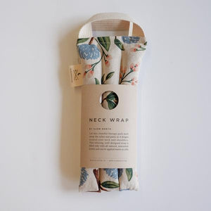 Slow North Neck Wrap Therapy Pack - Peonies