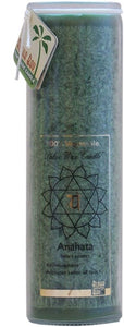 Candle Chakra Jar Unscented Green