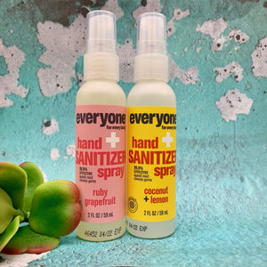 EO Hand Sanitizing Spray - Coconut Lemon