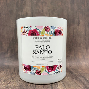 Wood & Wax Palo Santo Candle