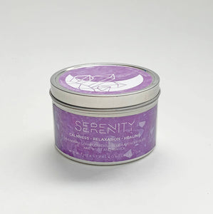 The Astral Boutique - Serenity Crystal Candle