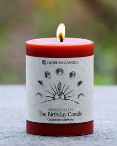 Sunbeam Candles, Inc - Birthday Manifestation Aromatherapy Pillar