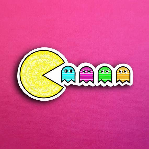 Zenspire Designs - Pac-Man Sticker
