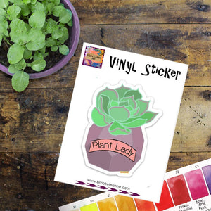 Brooke LeAnne - Plant Lady Vinyl Sticker