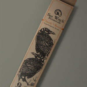 All-Natural Incense: Quoth the Raven - with Orange, Cinnamon, Clove Essential Oils