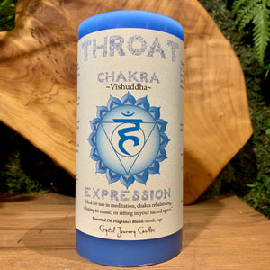 Throat Chakra - EXPRESSION Candle