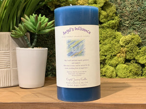 Angel's Influence - Large Crystal Journey Candle