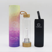 Bamboo Crystal Infused Water Bottles