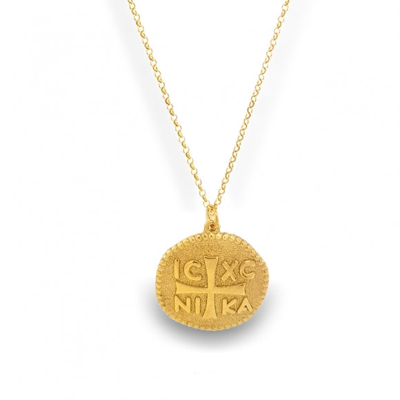 Necklace 925 Yellow Gold Plated