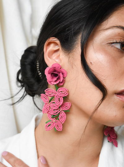 Sable & Dixie - Allegra Rose Earrings