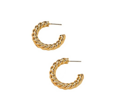 Brooklyn - Gold Earrings