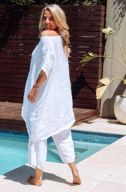 KIITOS Gauze Top (Long) - White