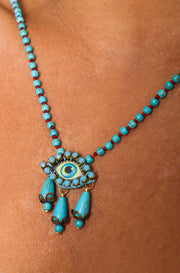 Rosario Eye Necklace
