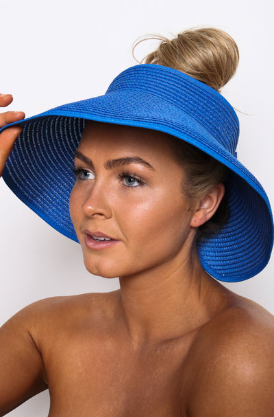 Audrey Roll Up Hat Aegean