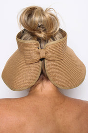 Audrey Roll Up Hat Tan