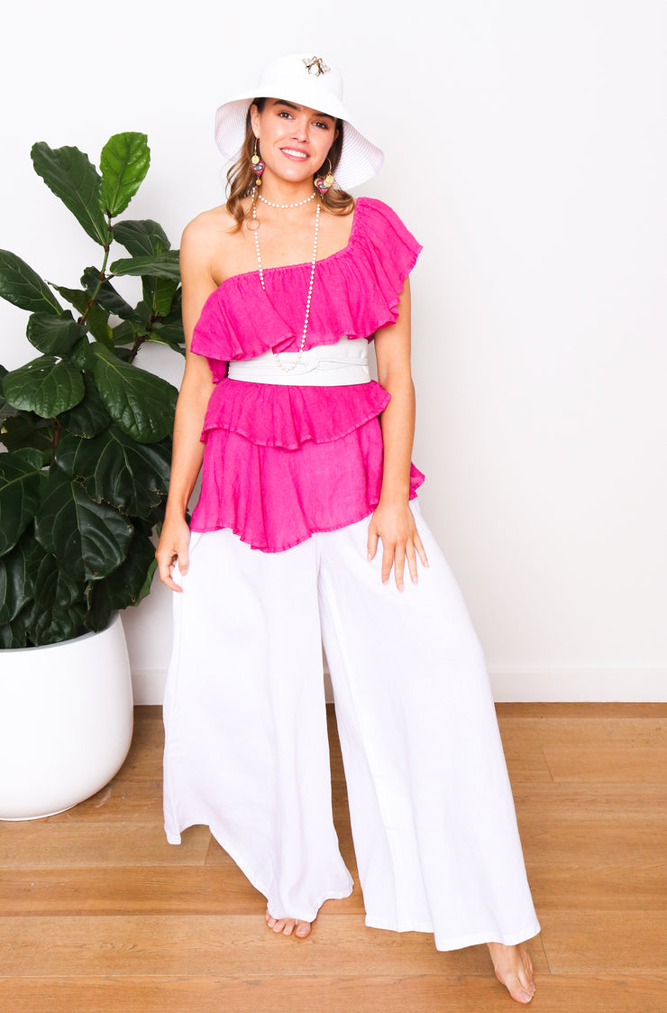 Kyma Top - Fuchsia