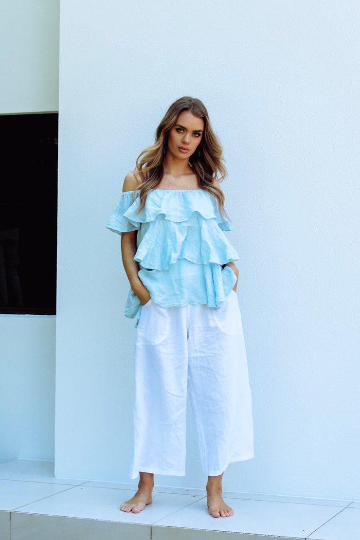 Kyma Top - Powder Blue