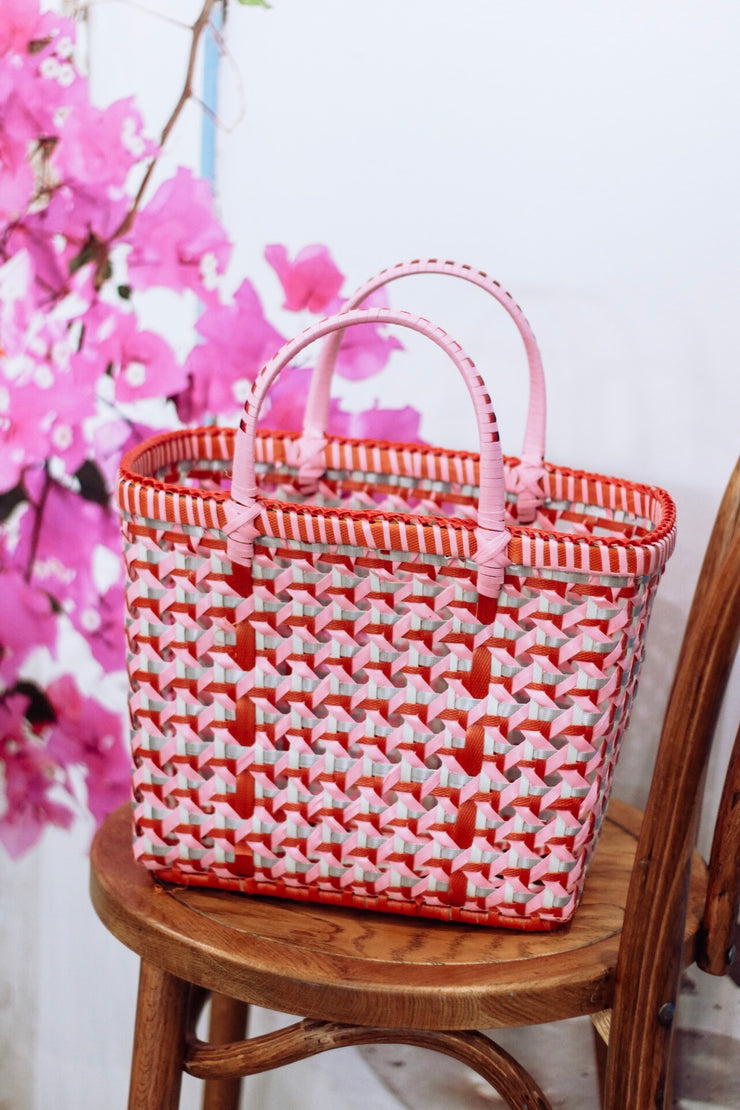 Pali Basket Pink KuuKuu Medium