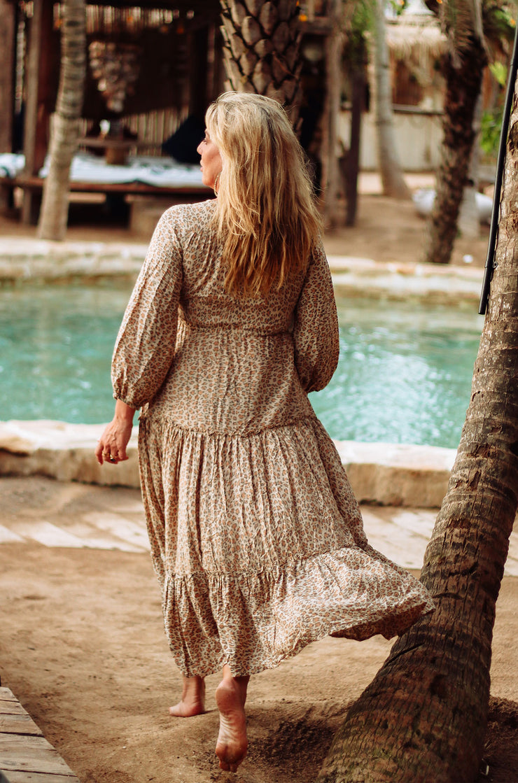Desert Leopard Dress
