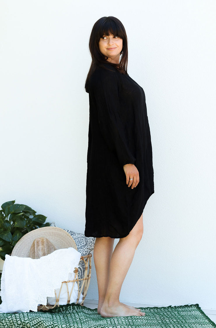 Nammos Top / Dress - Black