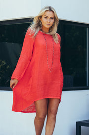 Nammos Top / Dress - Red