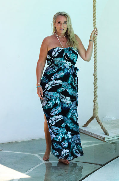 Palm Springs Jumpsuit - Black