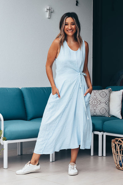 Adriana Dress | Powder Blue