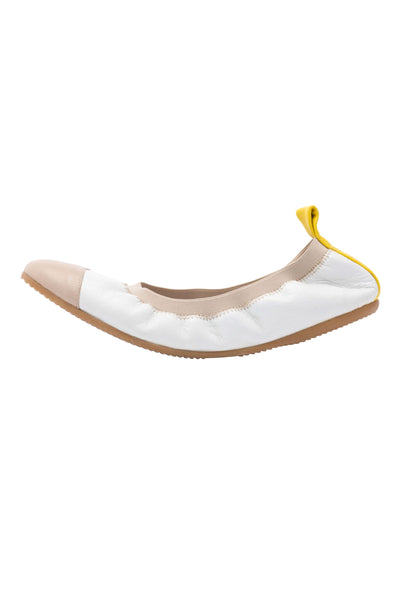 Cammino Allerga White, Tan & Yellow