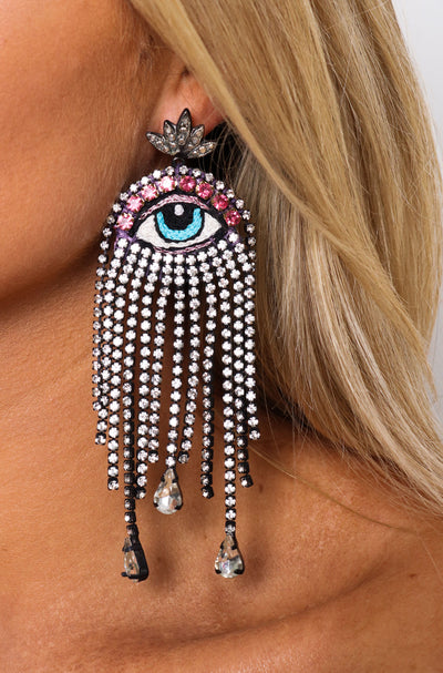 Medusa Strass Showstopper Earrings
