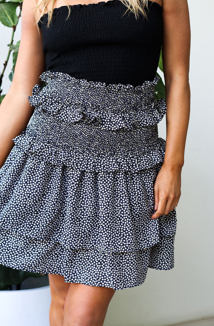 Good Times Skirt - Top - Floral Print