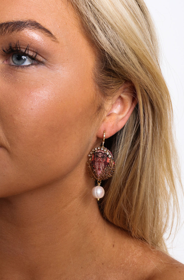 Catrina La Calavera Earrings