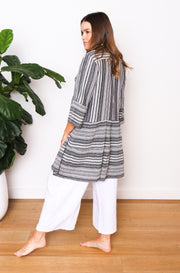 Thalia Smock Top / Dress Stripe
