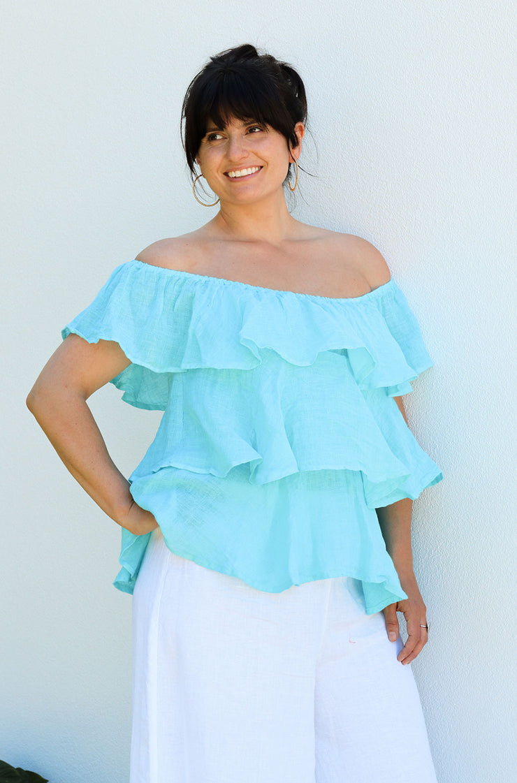 Kyma Top - Turquoise
