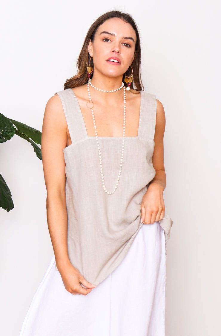 Demi Top - Beige