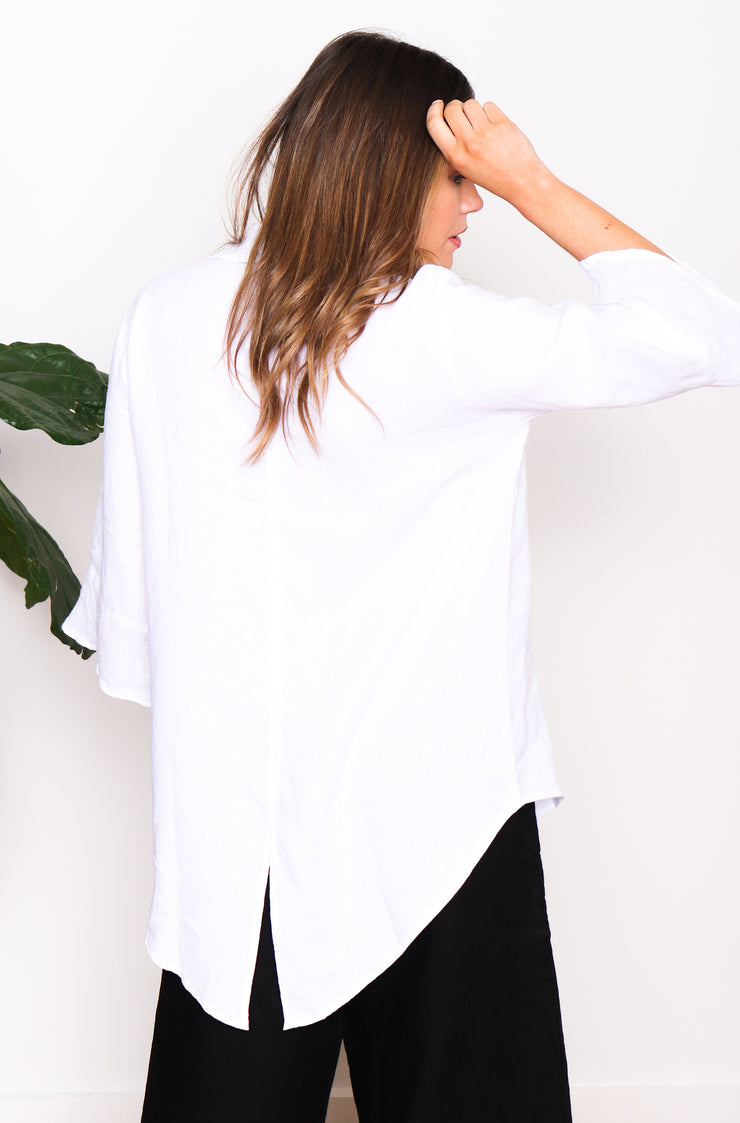 Phoebe Shirt - White