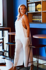 Chara Jumpsuit - White